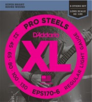 Фото - Струны DAddario XL ProSteels Bass 6-String 30-130