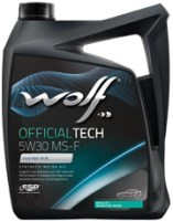 Моторное масло WOLF Officialtech 5W-30 MS-F 4L