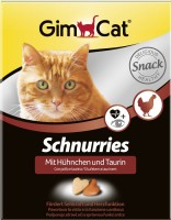 Фото - Корм для кошек Gimpet Adult Schnurries Chicken 650