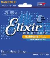 Струны Elixir Electric Nanoweb Heavy 12-52