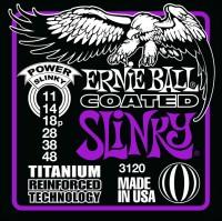 Фото - Струны Ernie Ball Slinky RPS Coated Titanium 11-48