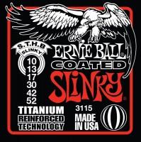Струны Ernie Ball Slinky RPS Coated Titanium 10-52