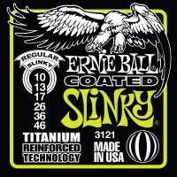 Фото - Струны Ernie Ball Slinky RPS Coated Titanium 10-46