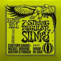 Фото - Струны Ernie Ball Slinky Nickel Wound 7-String 10-56