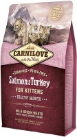 Фото - Корм для кошек Carnilove Kitten Healthy Growth with Salmon/Turkey 2 kg