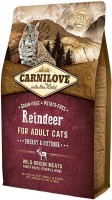 Корм для кошек Carnilove Adult Energy/Outdoor with Reindeer 0.4 kg