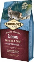 Корм для кошек Carnilove Adult Sensitive/Long-haired with Salmon 2 kg
