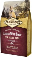 Корм для кошек Carnilove Adult Sterilised with Lamb/Wild Boar 0.4 kg