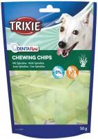Фото - Корм для собак Trixie Delicacy Kauchips with Spirulina Algae 0.05 kg
