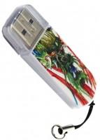 USB Flash (флешка) Verbatim Mini Tattoo Dragon 16Gb