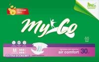 Фото - Подгузники Myco Extra Economy M / 30 pcs