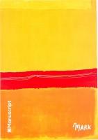 Блокнот Manuscript Rothko 1949