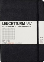 Фото - Блокнот Leuchtturm1917 Squared Notebook Soft Black