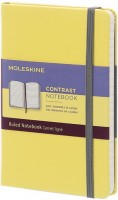 Блокнот Moleskine Contrast Ruled Notebook Pocket Yellow