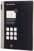 Ежедневник Moleskine PRO New Weekly Planner Soft Large Black