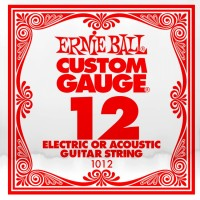 Фото - Струны Ernie Ball Single Plain Steel 12