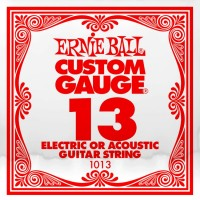 Фото - Струны Ernie Ball Single Plain Steel 13