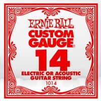 Фото - Струны Ernie Ball Single Plain Steel 14