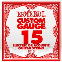 Фото - Струны Ernie Ball Single Plain Steel 15