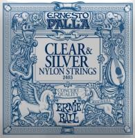 Струны Ernie Ball Ernesto Palla Clear & Silver Nylon