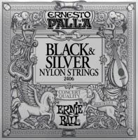 Струны Ernie Ball Ernesto Palla Black & Silver Nylon