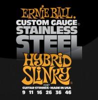 Фото - Струны Ernie Ball Slinky Stainless Steel 9-46