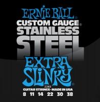 Фото - Струны Ernie Ball Slinky Stainless Steel 8-38