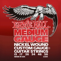 Струны Ernie Ball Nickel Wound 13-56