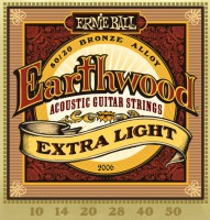 Фото - Струны Ernie Ball Earthwood 80/20 Bronze 10-50