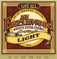 Фото - Струны Ernie Ball Earthwood 80/20 Bronze 11-52