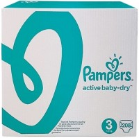 Подгузники Pampers Active Baby-Dry 3 / 208 pcs