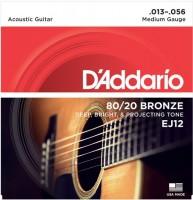 Фото - Струны DAddario 80/20 Bronze 13-56