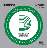 Фото - Струны DAddario Single XL Nickel Wound 18