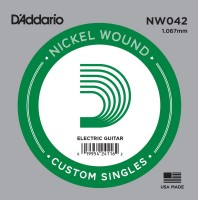 Фото - Струны DAddario Single XL Nickel Wound 42