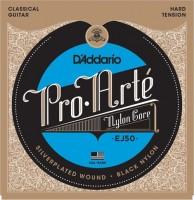 Струны DAddario Pro-Arte Black Nylon 28-44