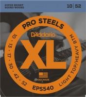 Струны DAddario XL ProSteels 10-52