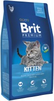 Фото - Корм для кошек Brit Premium Kitten Chicken/Salmon Gravy 0.8 kg