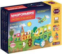 Фото - Конструктор Magformers My First Play 100 Set 702012