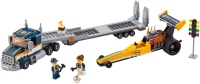 Фото - Конструктор Lego Dragster Transporter 60151