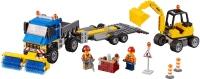 Фото - Конструктор Lego Sweeper and Excavator 60152