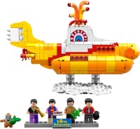 Фото - Конструктор Lego The Beatles Yellow Submarine 21306