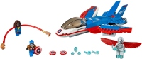 Фото - Конструктор Lego Captain America Jet Pursuit 76076