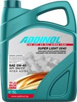 Моторное масло Addinol Super Light 0540 5W-40 5L