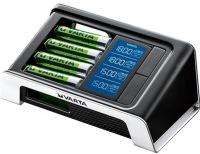 Зарядка аккумуляторных батареек Varta LCD Ultra Fast Charger + 4xAA 2400 mAh