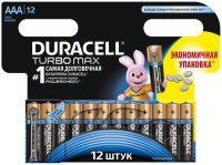 Аккумуляторная батарейка Duracell 12xAAA Turbo Max MX2400