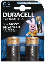 Аккумуляторная батарейка Duracell 2xC Turbo Max MX1400