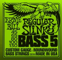 Фото - Струны Ernie Ball Slinky Nickel Wound Bass 5-String 45-130