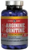 Аминокислоты Form Labs Arginine/Ornitine 180 cap