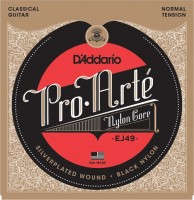 Струны DAddario Pro-Arte Black Nylon 28-43