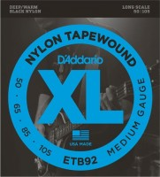 Фото - Струны DAddario XL Nylon Tapewound Bass 50-105